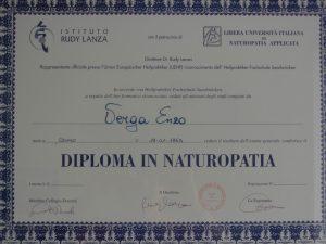 Diploma Naturopatia