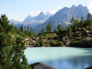lago Sorapiss e Tre Cime Lavaredo